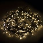 LED-Lichterkette 700 LED-Lichter / 17m / Warmweiß / In- & Outdoor