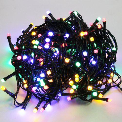 180er LED-Lichterkette / 13m / Innen & Außen / Farbwechsel – Bild 1
