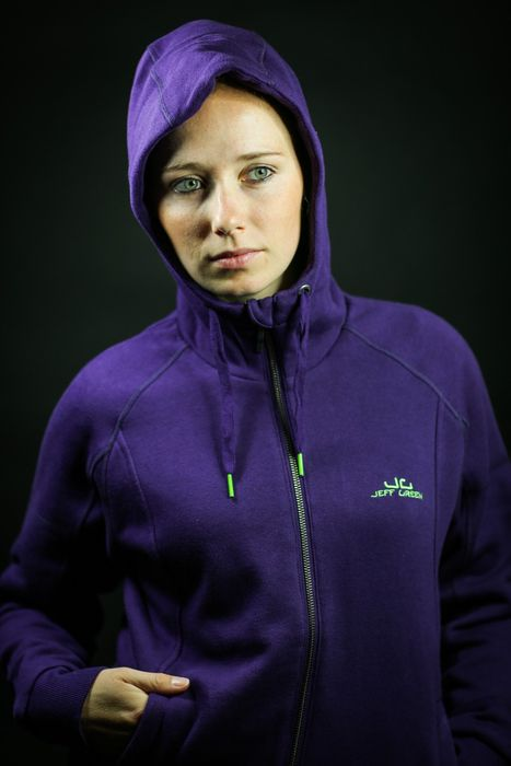 Jeff Green Damen Sweat Jacke Joy