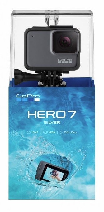 gopro hero7 silver action kamera navigation technik. Black Bedroom Furniture Sets. Home Design Ideas