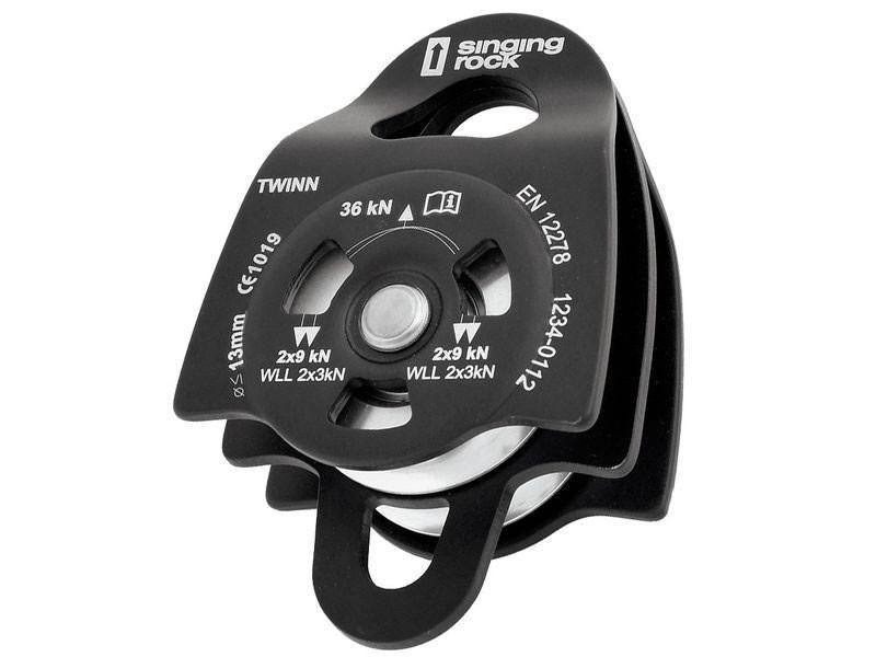 Kletterausrüstung Komplettset : Singingrock twinroll seilrolle kletterausrüstung hardware