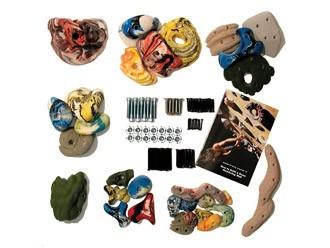 Kletterausrüstung Komplettset : Metolius mega pack klettergriffe kletterausrüstung