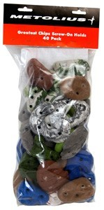 Metolius Greatest Chips 40 Pack - Klettergriffe