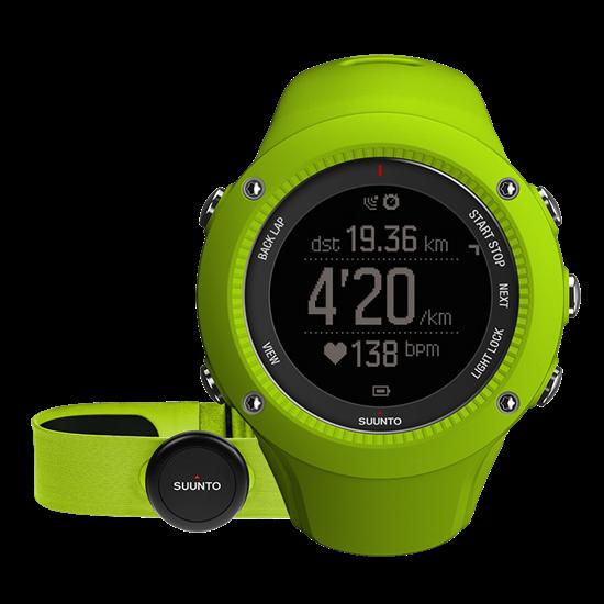 Suunto Ambit 3 Run - GPS Sportuhr- Lime (HR)