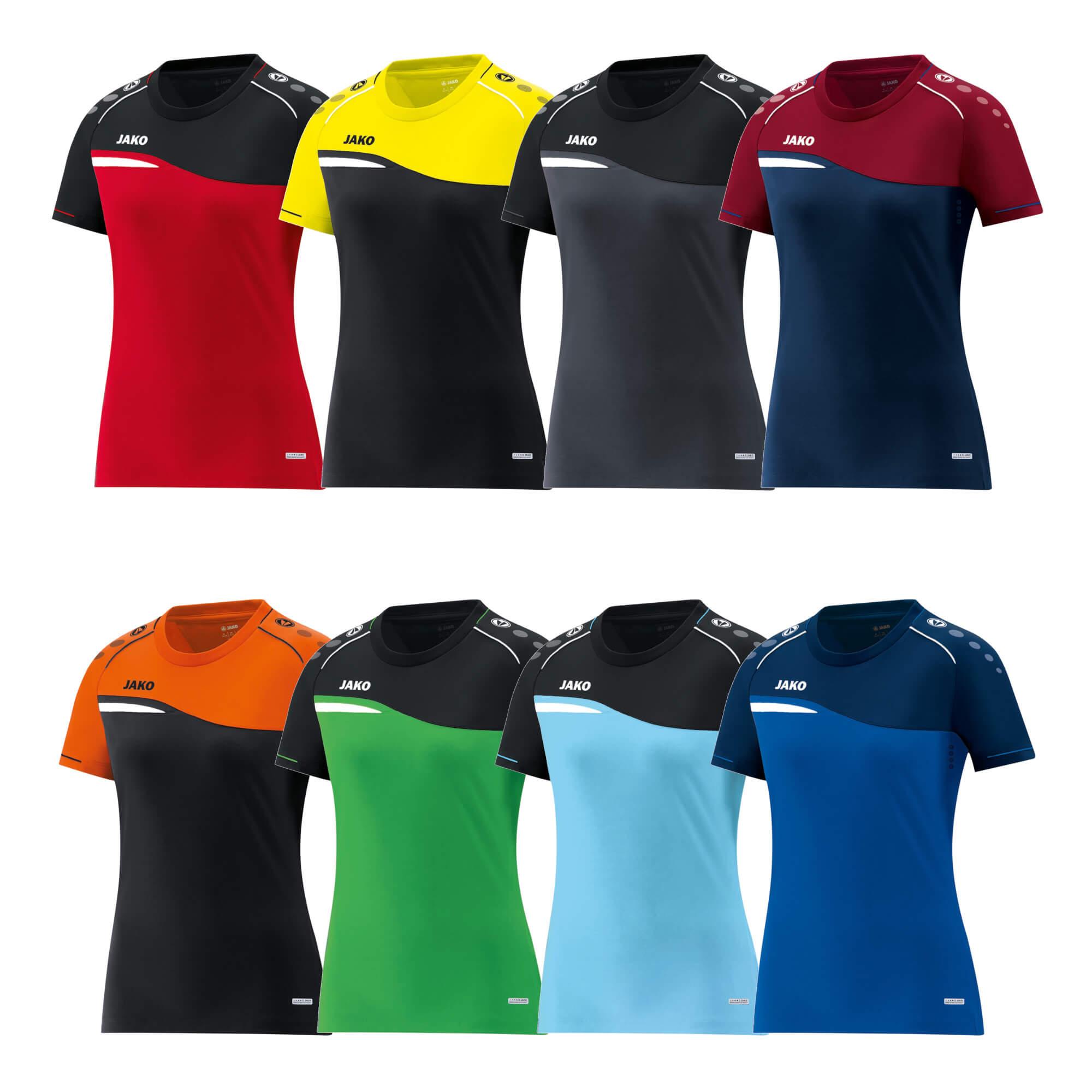 f61091fd08e438 JAKO Damen T-Shirt Competition 2.0 6118 | Vision sports Teamsportbedarf