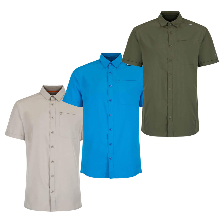 NEU Fox Outdoor Hemd kurzarm Microfaser Outdoorhemd Freizeithemd S-2XL