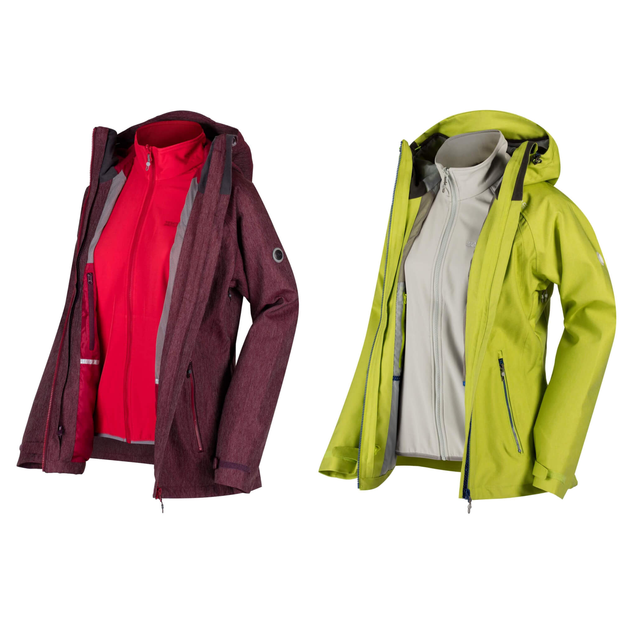 Regatta damenjacke 3 in 1