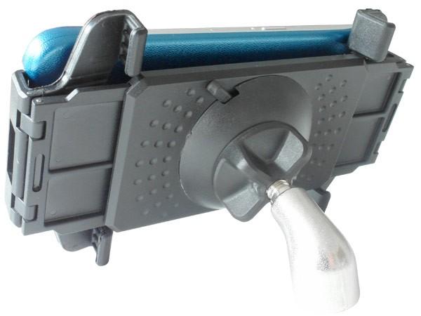 Handy Tablet Befestigung am Mikrofonständer Variabel iPhone Samsung Huawai Micro-Stativ Modell: IP01