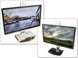 Wandhalterung mit Gasfederung + Ablage (höheneinstellbar) LED LCD TV (VESA 200-600x400) Modell: LF4 Bild 6