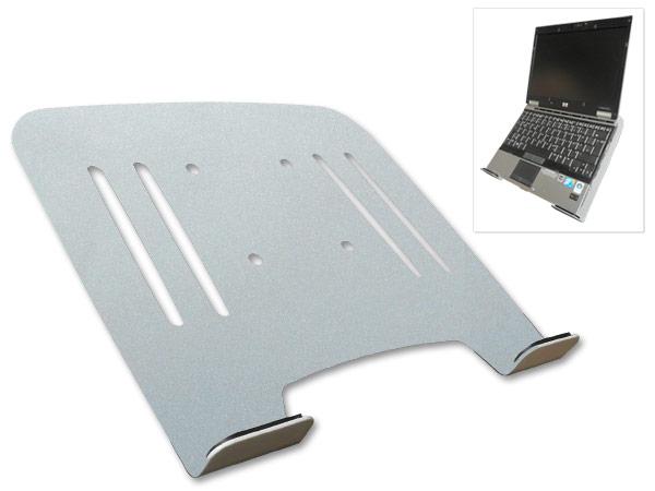 Universal  Halterung Laptop Notebook Netbook Befestigung an Wandhalterung VESA 75 Schwarz, Weiss oder Silber Modell: IP3V