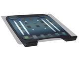 Universal  Halterung Laptop Notebook Netbook Befestigung an Wandhalterung VESA 75 Schwarz, Weiss oder Silber Modell: IP3V 008