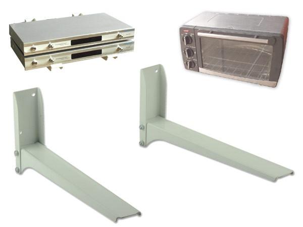 Universal Wandhalterung Halter Mikrowelle Lautsprecher Boxen Bluray DVD Player weiß Modell: H76W
