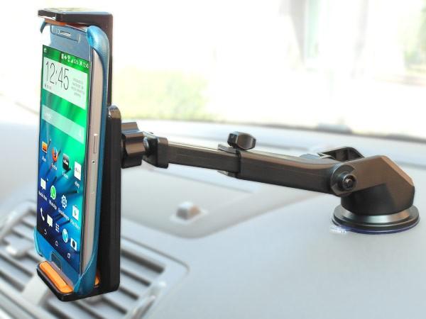 Smartphone Handyhalterung Armatur Windschutzscheibe Gel-Saugnapf Navi KFZ LKW Universal Modell: IP21