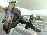 Handy Smartphone Halterung am Lüftungsschlitz mit Klemme für KFZ LKW Campingwagen Tablet Navi Universal neigbar 360° Grad drehbar Modell: IP22 Bild 2