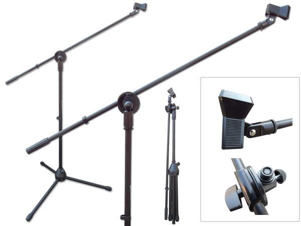 Mikrofonständer mit Handyhalterung Smartphone-Halter Galgen Mikrofon Ständer Stativ Modell: IP02-MS7