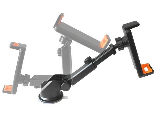 2 in 1 Combi Set Smartphone Magnet Klemme Handyhalterung Armatur Gel-Saugnapf Navi KFZ LKW Universal Modell: IP21-MH0304