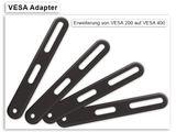 VESA Adapter Erweiterung von VESA 200 auf VESA 300 und 400 Erweiterungsarme