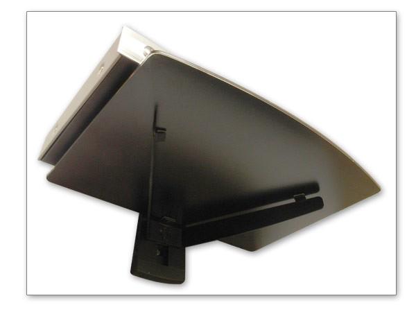 Wandablage Wandregal DVD Bluray Receiver Media Amp Lautsprecher Mikrowelle Glas Regal Modell: GA3