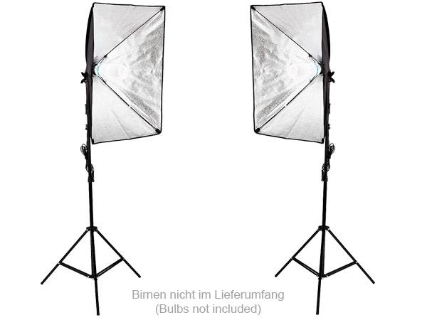 Fotoset (2 x 2m ) Fotostudio Studioset Hintergrundsystem Musselin Modell: FT01