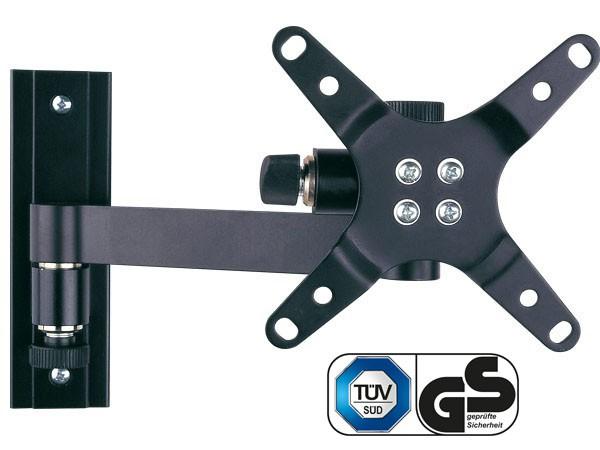 Monitor Wandhalterung silber oder schwarz TFT/LCD/LED Fernseher 19-31 Zoll VESA 75 100 Modell: L52V
