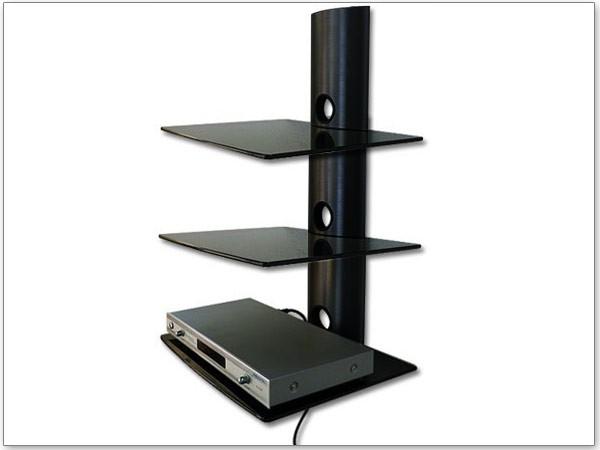 schwarz DVD Media Bluray Player Amp Speaker Box Regal Ablage 3 ...