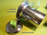 Teekanne 500 ml Glas Tee Kanne Kaffeekanne Teebereiter Teegeschirr mit Metallsieb Modell: TC02 Bild 5