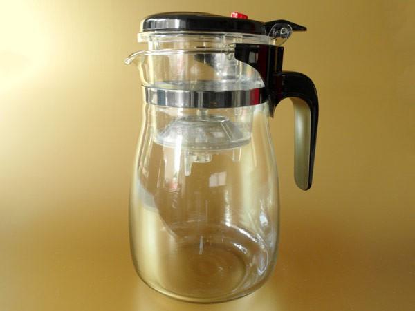Teekanne 900 ml Glas Tee Kaffee Teebereiter Teegeschirr mit Sieb Modell: TC04