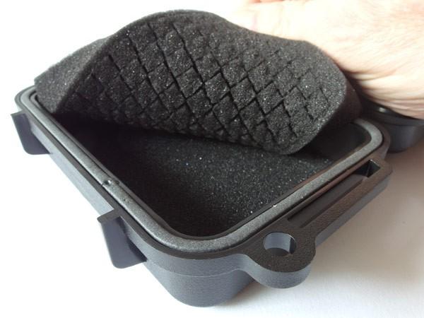 Waterproof Case Kunststoff-Box 161x110x52 mm Camping Outdfoor Boot Survival Safety-Box für z.B. iPhone Foto Objektiv wetter- stossfest staubdicht Modell: WPC01