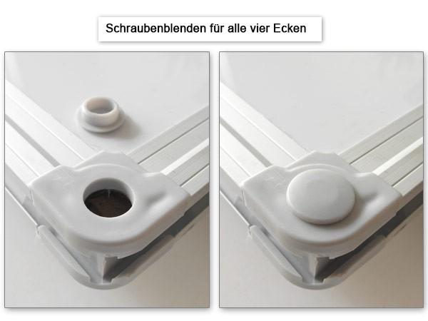 Whiteboard Weisswandtafel 45 x 30 cm Magnetafel für Büro Office als Schreibtafel Pinwand Memoboard magnetisch Modell: WB01