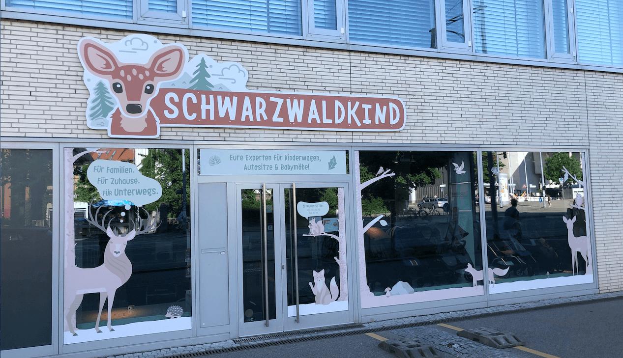 Schwarzwaldkind in Freiburg