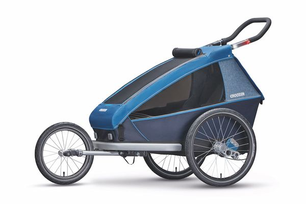 Croozer Kid Plus For 2 Ocean blue (3in1)