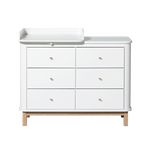 Oliver Furniture Wickelkommode mit Wickelplatte klein 001