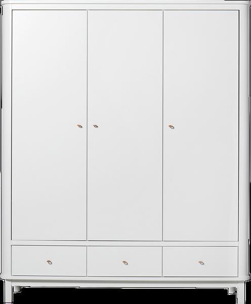 Oliver Furniture Kleiderschrank 3-türig