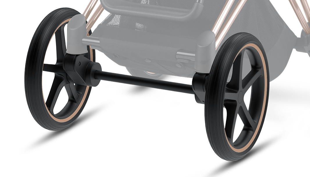 Cybex Priam Front Wheel Set inkl. Adapter