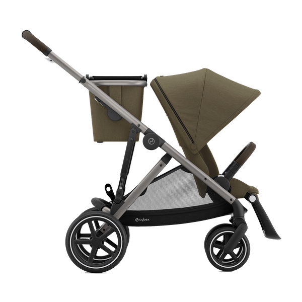 Cybex Gazelle S - Big City Shopper Buggy - Gestellfarbe: Taupe