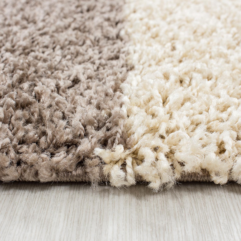 hochflor designer shaggy teppich schadsstof gepr ft kariert teppich ebay