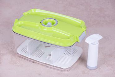 Vakuumbehälter 4,5l - eckig - grün – Bild 2