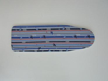 Marineblau gestreift mit Schiffen  Polsterung