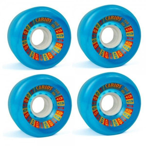 Koston Longboard Wheel Set Carlos Wheels 70mm/80A (4 Rollen) - Rollen Set Wheels