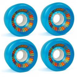 Koston Longboard Wheel Set Carlos Wheels 70mm/80A (4 Rollen) - Rollen Set Wheels 001
