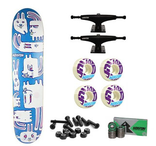 Koston Skateboard Set Bunny City - Complete Skateboards