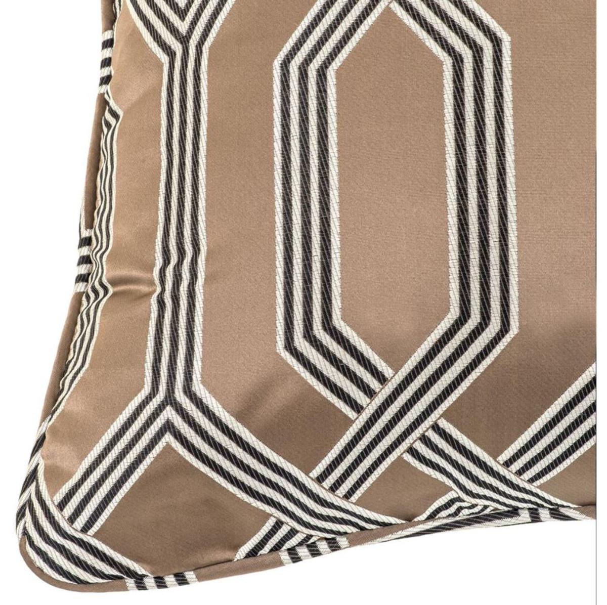 Casa Padrino Designer Kissen Braun 60 X 60 Cm Luxus Wohnzimmer Accessoires