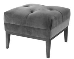 Casa Padrino luxury stool dark gray 54 x 54 x H. 44 cm - living room furniture