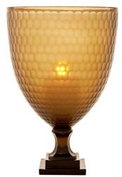 Casa Padrino luxury candlestick honey colored 30 x H. 43,5 cm - restaurant accessories