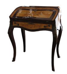 Casa Padrino Baroque Secretary - Mahogany - 74 x 45 x H 88 cm - secretary antique style