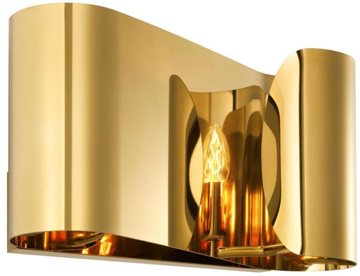Wandleuchte Schwarz Gold ~ Casa padrino luxus wohnzimmer wandleuchte gold h cm