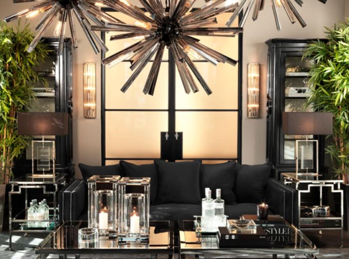 Casa padrino argento lampada da parete di lusso h cm