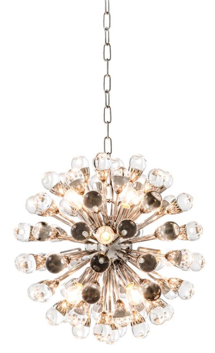 Casa Padrino Luxus Kronleuchter Silber Durchmesser 50 cm - Luxus ...