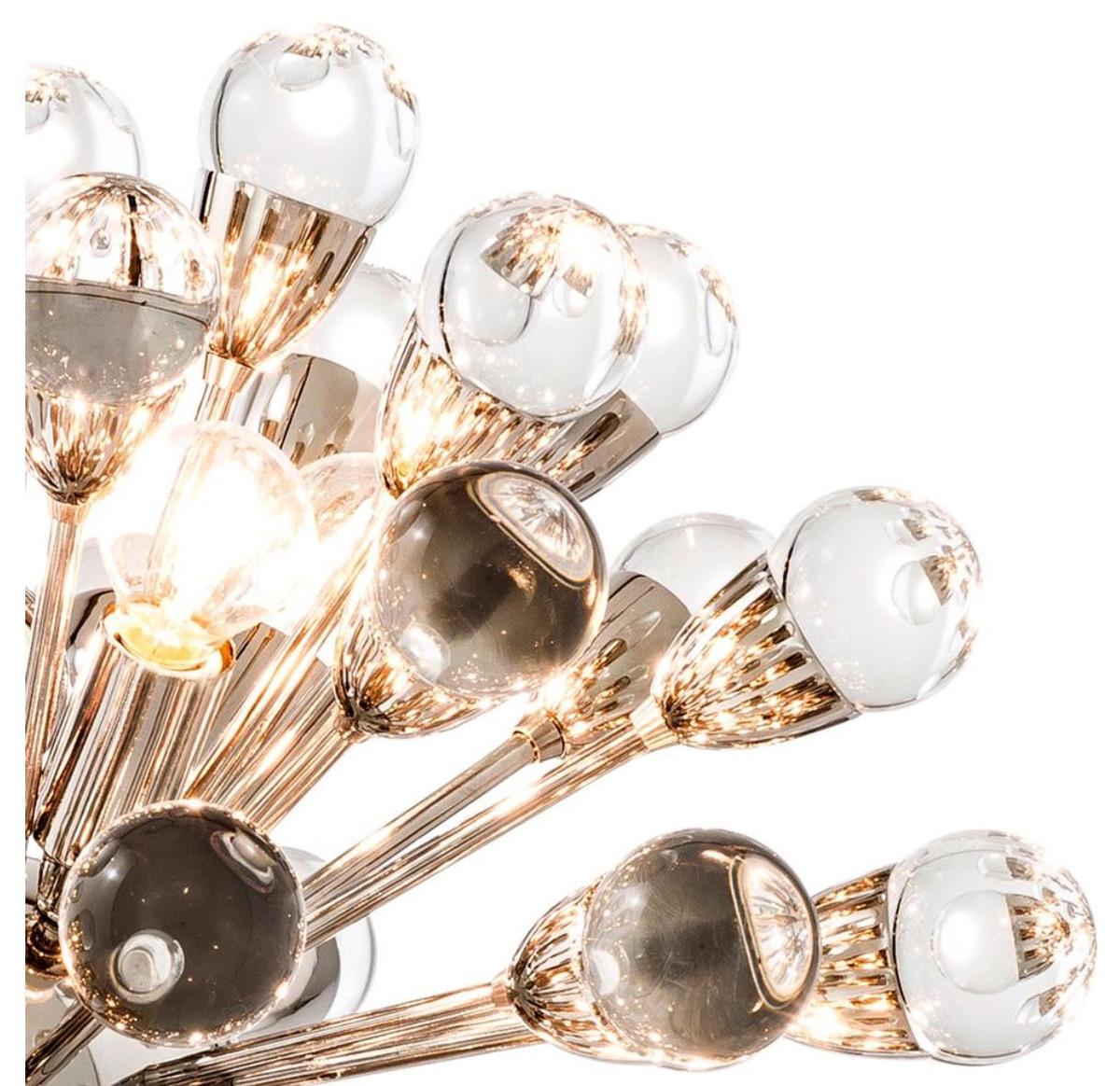 casa padrino luxus kronleuchter silber durchmesser 50 cm luxus hotel kollektion leuchten. Black Bedroom Furniture Sets. Home Design Ideas