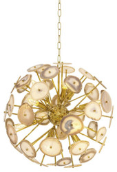 Casa Padrino Chandelier Gold Diameter 60 cm - Luxury Quality